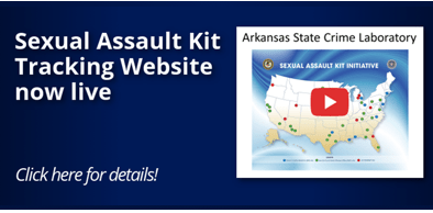 Sexual Assault Kit Tracking Website Now Live.