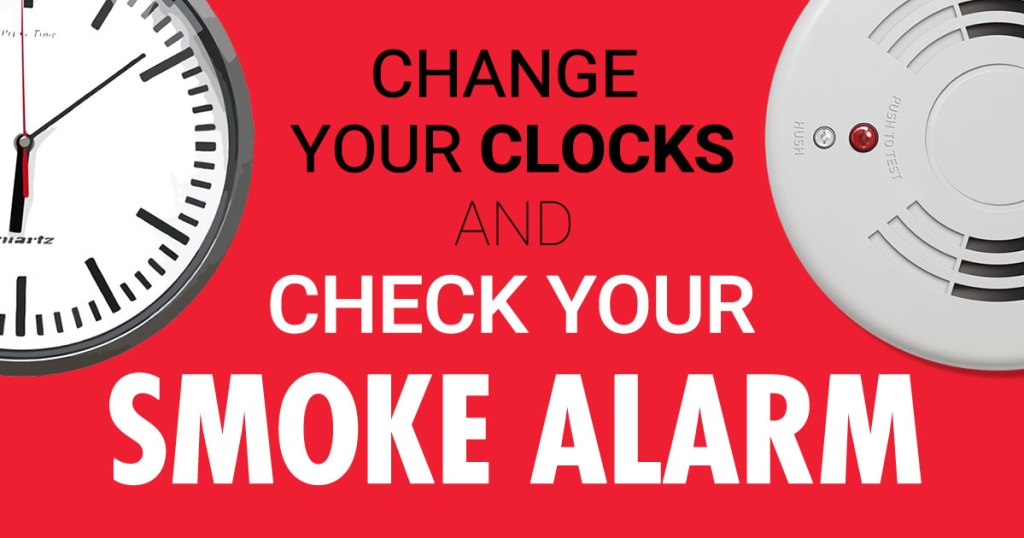 check your smoke alarm