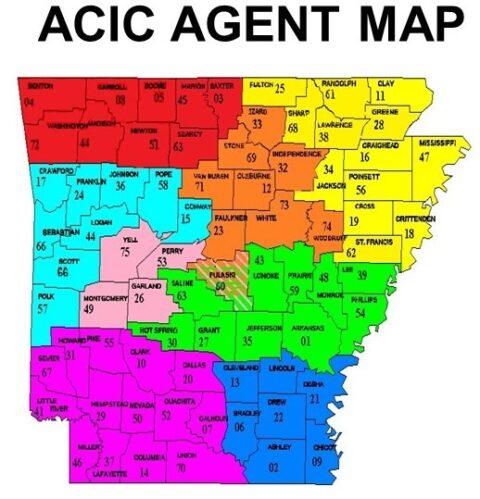 ACIC Agent Map
