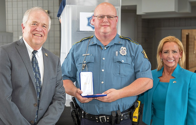 Corporal Chet White - Trooper of the Year